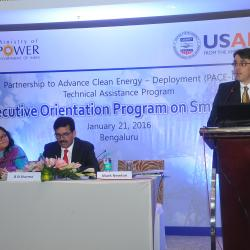 Smart Grids Orientation, Bangalore - 2016 (4)